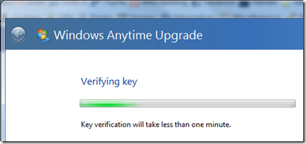 anytime upgrade key